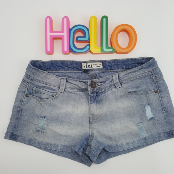 lei Other - Lei Destroyed Junior Girls Jean Shorts